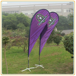 3.5m Flying Banner/Beach Flag/Teardrop Flag Banner/Feather Flag pictures & photos
