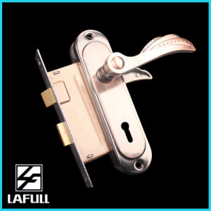 172 Aluminum Handle Iron Plate Door Handle Lock