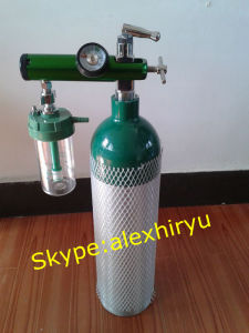 Aluminum Cheap Medical Oxygen Cylinder Price with Good Quality pictures & photos