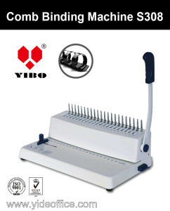 A4 Size Mini Comb Binding Machine (S308) pictures & photos