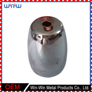 Deep Drawn Parts Olive Oval Shape Steel Cover (WW-DD022) pictures & photos
