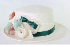 Hot Selling Lady Straw Hat, Summer Sports Baseball Cap pictures & photos