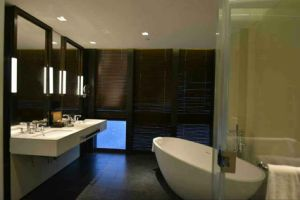 Nano Glass Thin Slab for Bathroom pictures & photos