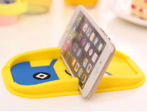 Wholesale Cartoon PVC Rubber Mobile Holder for Cellphone Holder pictures & photos
