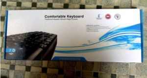 Universal Waterproof Game USB Wired Laptop Computer Keyboard pictures & photos