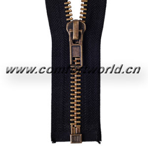 No 5 Black Brass Zipper O/E a/L pictures & photos