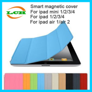 Magnet Smart Auto Sleep Single Folds Cover Cases for iPad pictures & photos