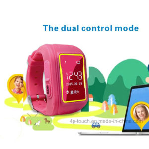 Kids Tracker Watch with GPS+Lbs Dual Position (Y3) pictures & photos