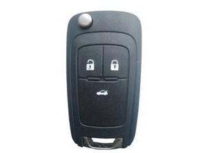 Remote Key Car Lock Compatible with GM Buick/ Chevrolet Normal Key Qn-RS390X pictures & photos