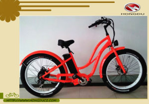New Design Cool Fat Tire Electric Mountain Bike 48V 500W for Sale pictures & photos