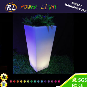 Rechargeable Outdoor Decorative Lighting LED Planter pictures & photos