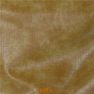 New Release Sofa Furniture Upholstery CPU Microfiber Imitation Leather pictures & photos