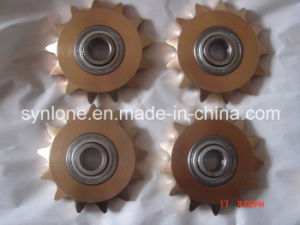 CNC Machining Bronze Chain Wheel pictures & photos