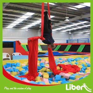 Room Site Design Big Indoor Kids Trampline Area with Foam Pit, Slam Dunk, Olympic Size Trampoline and Dodgeball Pk Games pictures & photos