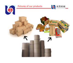 Liner Board Paper Making Machine, Cardboard Recycling Machine pictures & photos