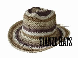 Crochet Paper Bucket Hat pictures & photos