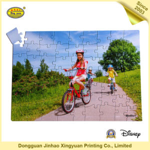 Cycling Kraft Printing Paper Jigsaw Puzzles for Children (JHXY-JP0005) pictures & photos