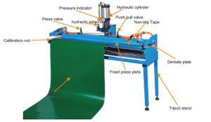 Finger Puncher Hydraulic Press Equipment for Conveyor Belt pictures & photos