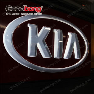 Logo Sticker Thermoforming LED Car Logo Sign pictures & photos