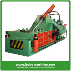 Front Bale Discharging Hydraulic Metal Baler pictures & photos