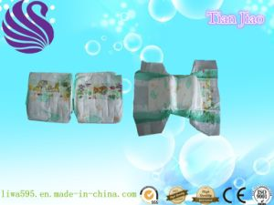 Diaposable OEM Baby Nappy with PP Tape and PP Film pictures & photos