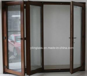 Tempered Glass Folding Aluminum Door pictures & photos