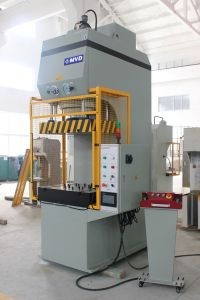 100 Ton C Frame Hydraulic Press Machine with High Working Speed Single Cylinder Hydraulic Press 100t pictures & photos