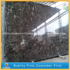 Chinese Emperador Dark /Brown Marble Slabs for Tiles and Countertops pictures & photos