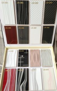 E1 Grade High Gloss UV Coated PVC MDF / Plywood for Cabinet Door (LCK2018) pictures & photos