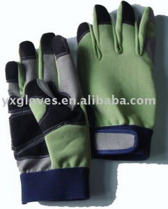 Pig Split Leather Glove-Leather Working Glove-Hand Protected Glove-Work Glove-Safety Glove pictures & photos