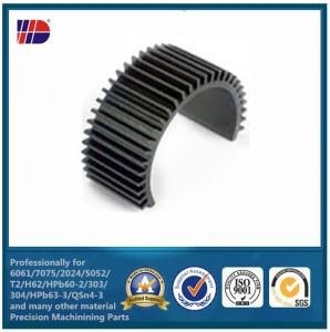 Black Anodized Die Casting and CNC Machining Aluminum Heat Sinks pictures & photos