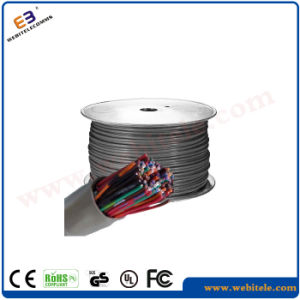 U/UTP 2 Pair Unshielded Cat 3 Twisted Cable pictures & photos