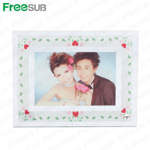 Freesub Blank Glass Frame for Sublimation Sublimation (BL-04) pictures & photos