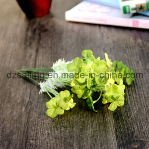 Cheap Artificial Clover Flowers for Wedding Home Decoration (FF-2699) pictures & photos