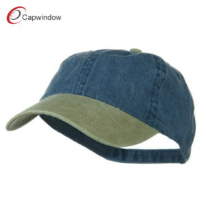 Khaki Navy Washed Cotton Brass Buckle Cap (02059) pictures & photos