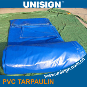Anti UV Waterproof PVC Panama Tarpaulin for Side Curtain pictures & photos