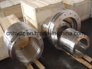 Hot Forged Stainless Steel Hubbed Flange of Material A182 F316L pictures & photos