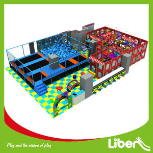 Customized Design Trampoline Park for Sale with ASTM Standard pictures & photos