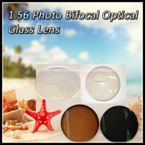 1.56 Photo Bifocal Optical Glass Lens pictures & photos