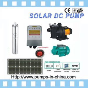 Solar DC Powered Submersible Deep Well Water Pumps pictures & photos