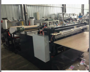 Automatic Paper Roll Cutting and Slitting Machine for 20-400g (DC-H1200) pictures & photos