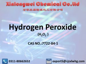 Supply High Quality Hydrogen Peroxide 27.5~50% with Best Price pictures & photos
