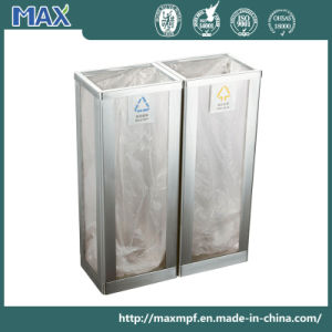 Acrylic Transparent Panel Trash Can pictures & photos