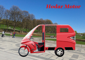 New Design Cabin Vans Electric Tricycle (HD800-12) pictures & photos