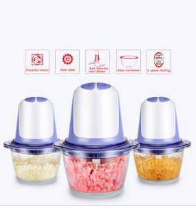 Food Processor Chopper for Meat/Vegetable/Fruit pictures & photos
