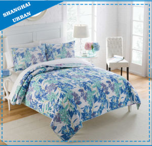 Polyester Print Home Bedding Bed Cover Quilt pictures & photos