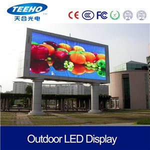 Outdoor Circular SMD P10 Full Color LED Display Screen LED Display Panel for Advertising pictures & photos