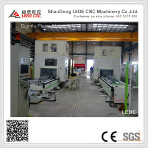 CNC Five-Axis Gantry Machine Center Series for Aluminum Profile Milling (Auto Bumper) pictures & photos