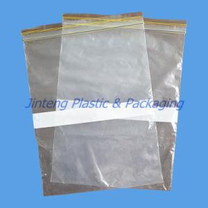 Blank Reclosable Ziplock PE Plastic Bag
