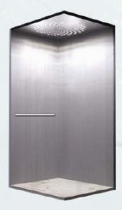 Safety Villa Elevator with Hairline Stainless Steel pictures & photos